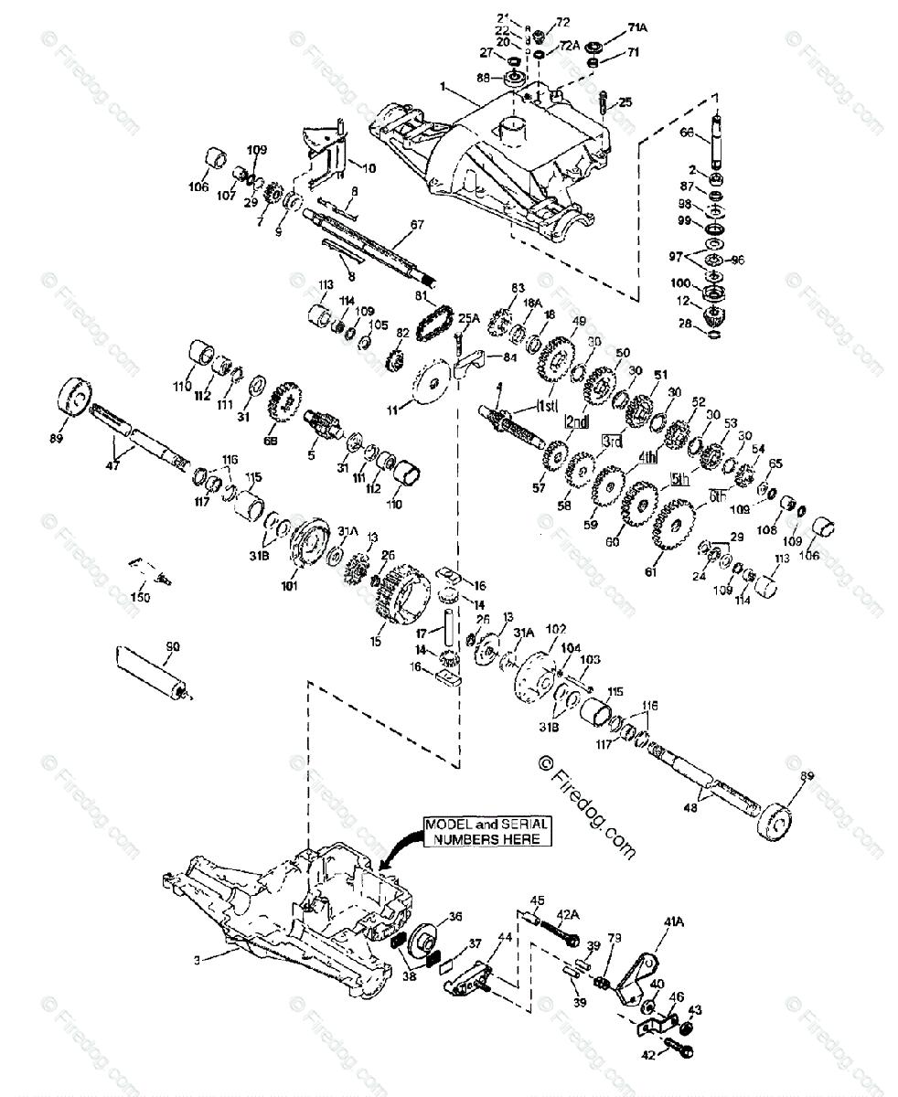 Husqvarna Engine / Transaxles Tec (1997-04) OEM Parts