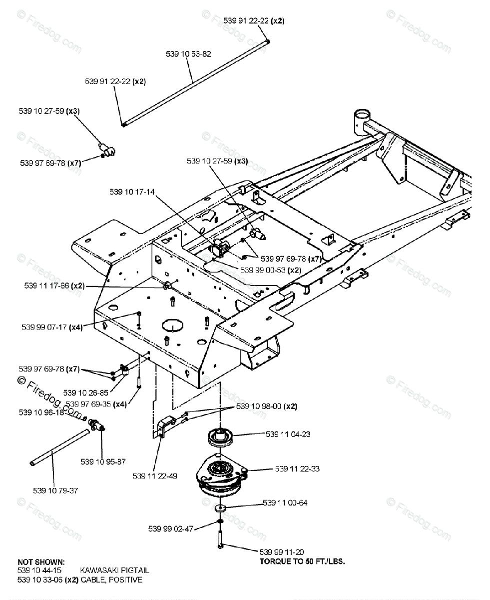 Husqvarna Ride Mower Turf Care Ez 5221 Kaa 968999292 2006 02 Engine Assembly Diagram Oem Parts For Kawasaki