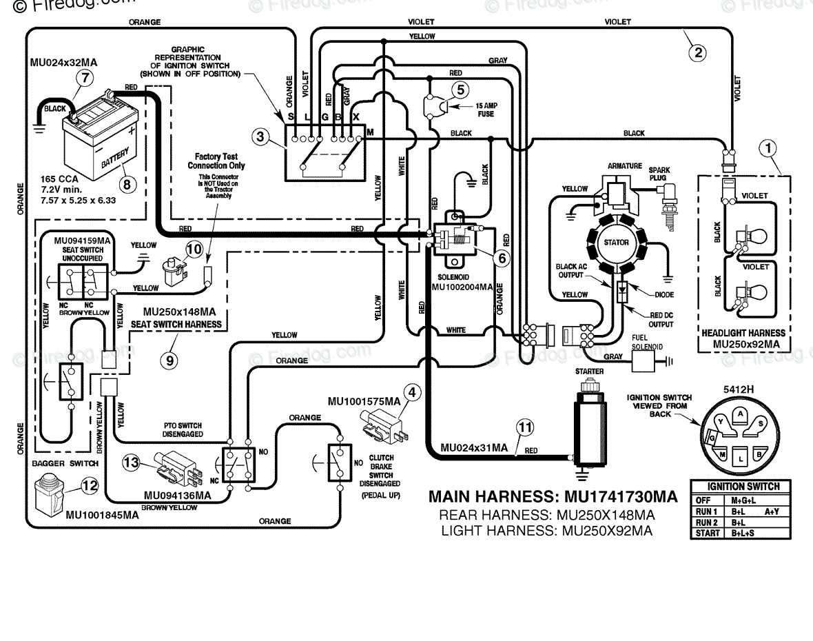 Briggs Stratton Yard Power 2008 Models Lawn Garden Oem Parts Amp Wiring Diagram For Electrical System