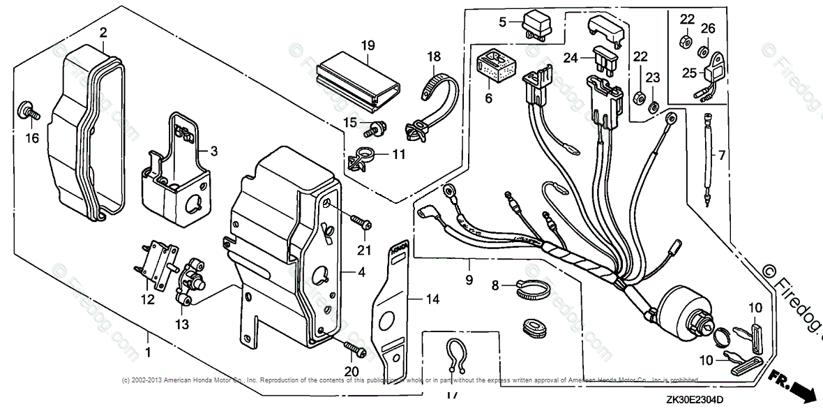 Honda Engines Engine Gx Oem Parts Diagram For Control Box 5honda: Honda Gx160 Engine Diagram At Obligao.co