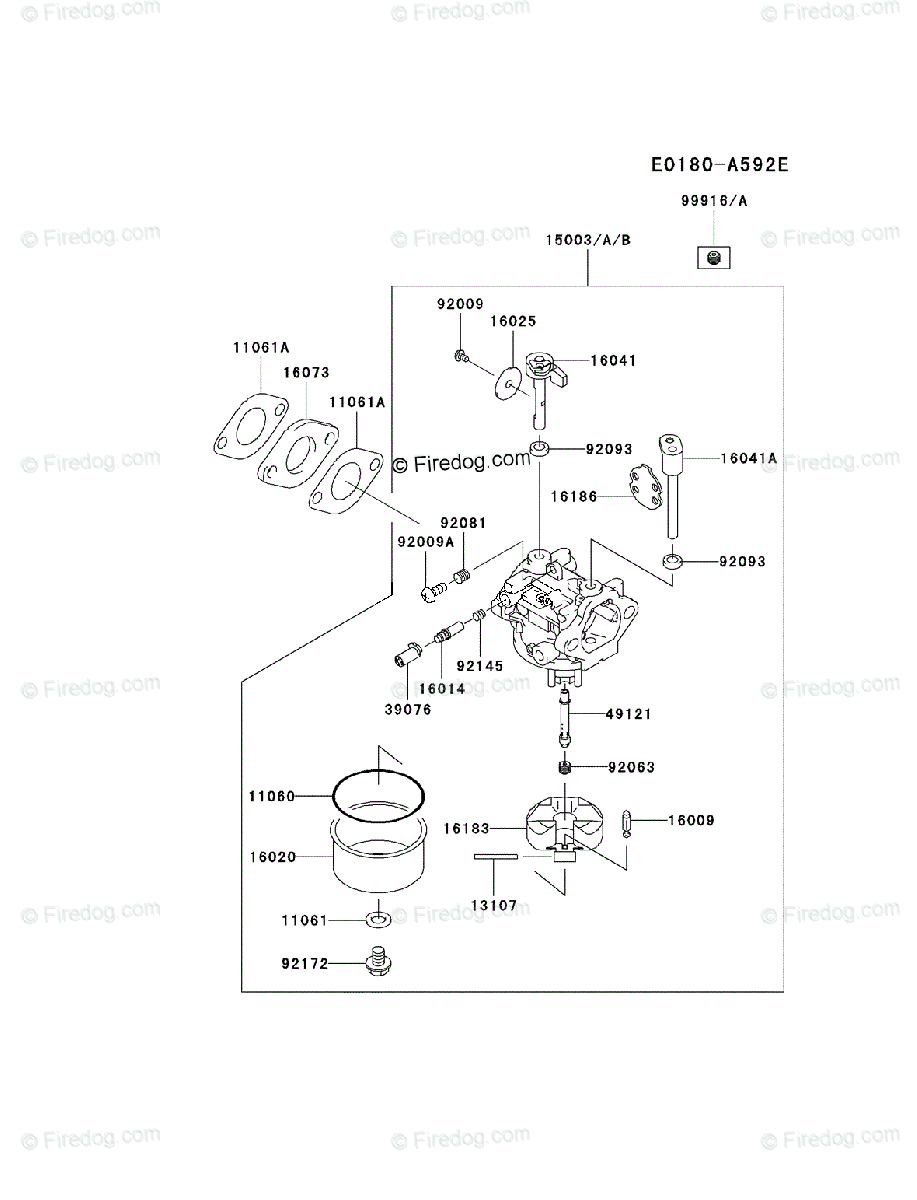 Kawasaki Fj180v Engine Diagram Archive Of Automotive Wiring 4 Stroke Oem Parts For Carburetor Rh Firedog Com