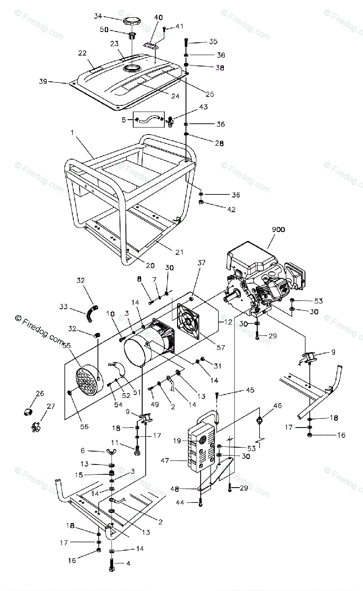 Portable Generator Schematic Drawings Electrical Wiring Diagrams To House Briggs Stratton Power Products United States Generators