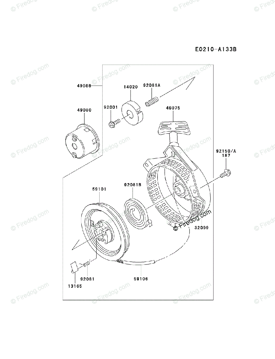 Kawasaki Generator Part Diagram - Wiring Diagram Database on
