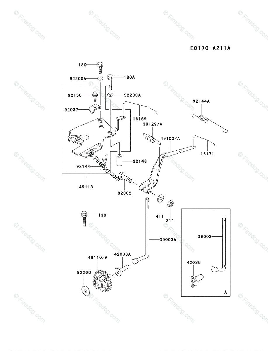 kawasaki 4 stroke engine fd620d oem parts diagram for control-equipment    firedog com