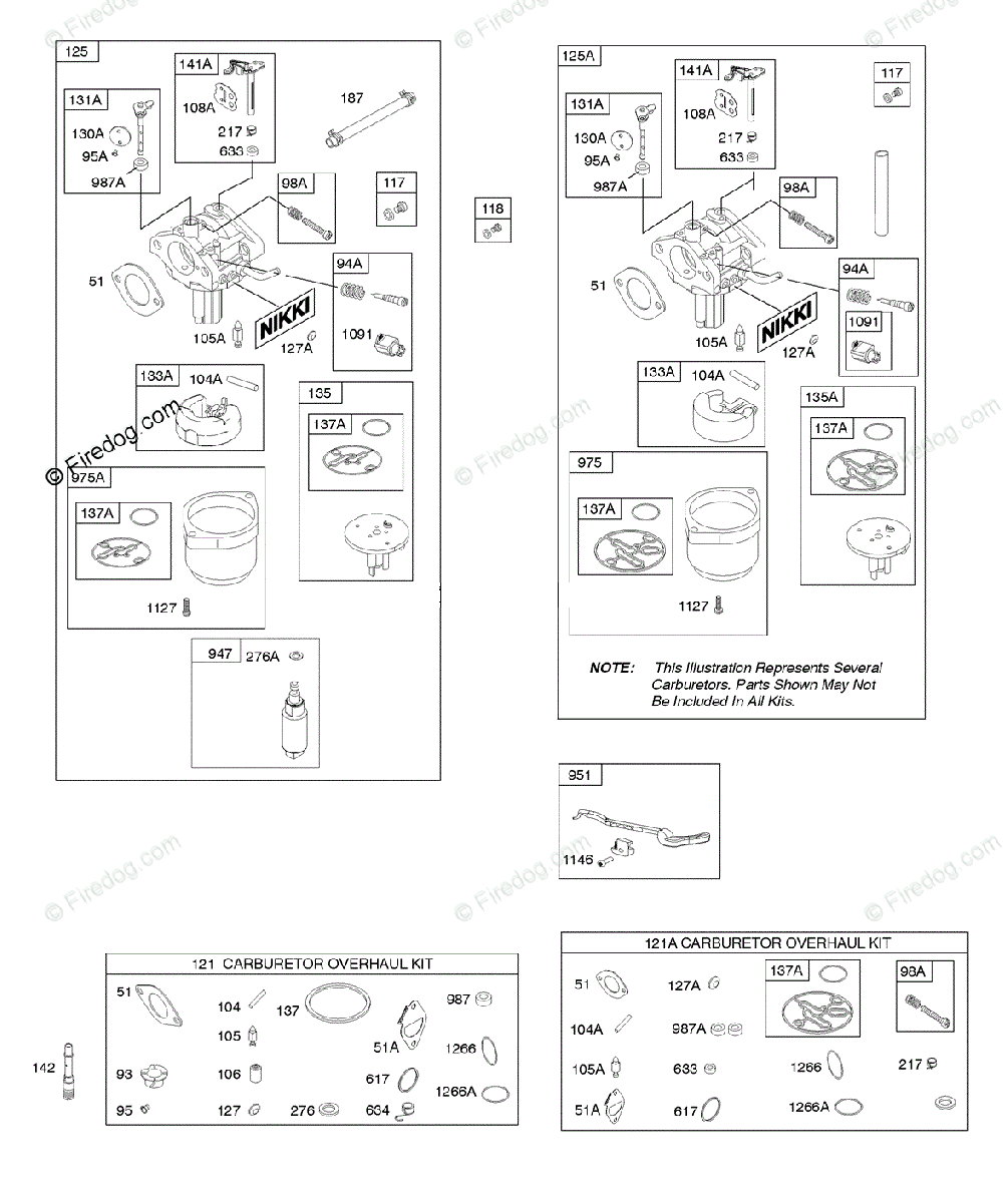 Briggs Stratton 200000 399999 Series 217800 To 217899 Oem Parts And Carburetor Diagram For Kit Overhaul