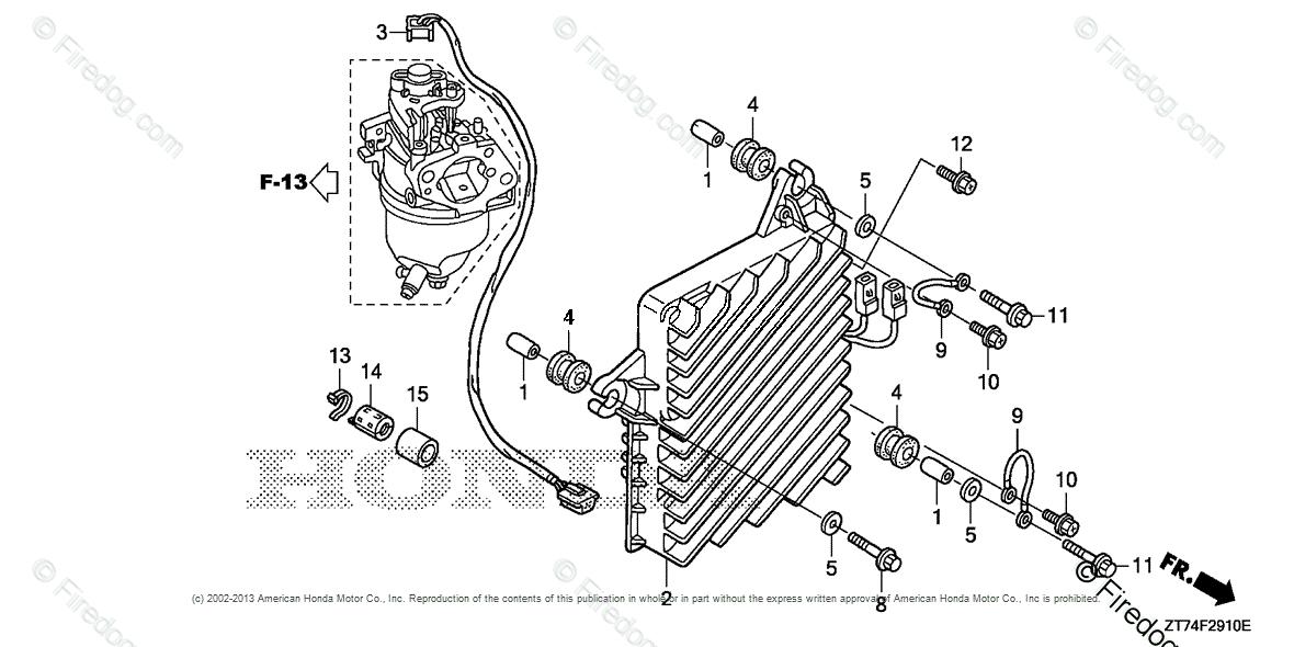 Honda Power Equipment Generator Eu3000is Ac Generator Jpn Vin
