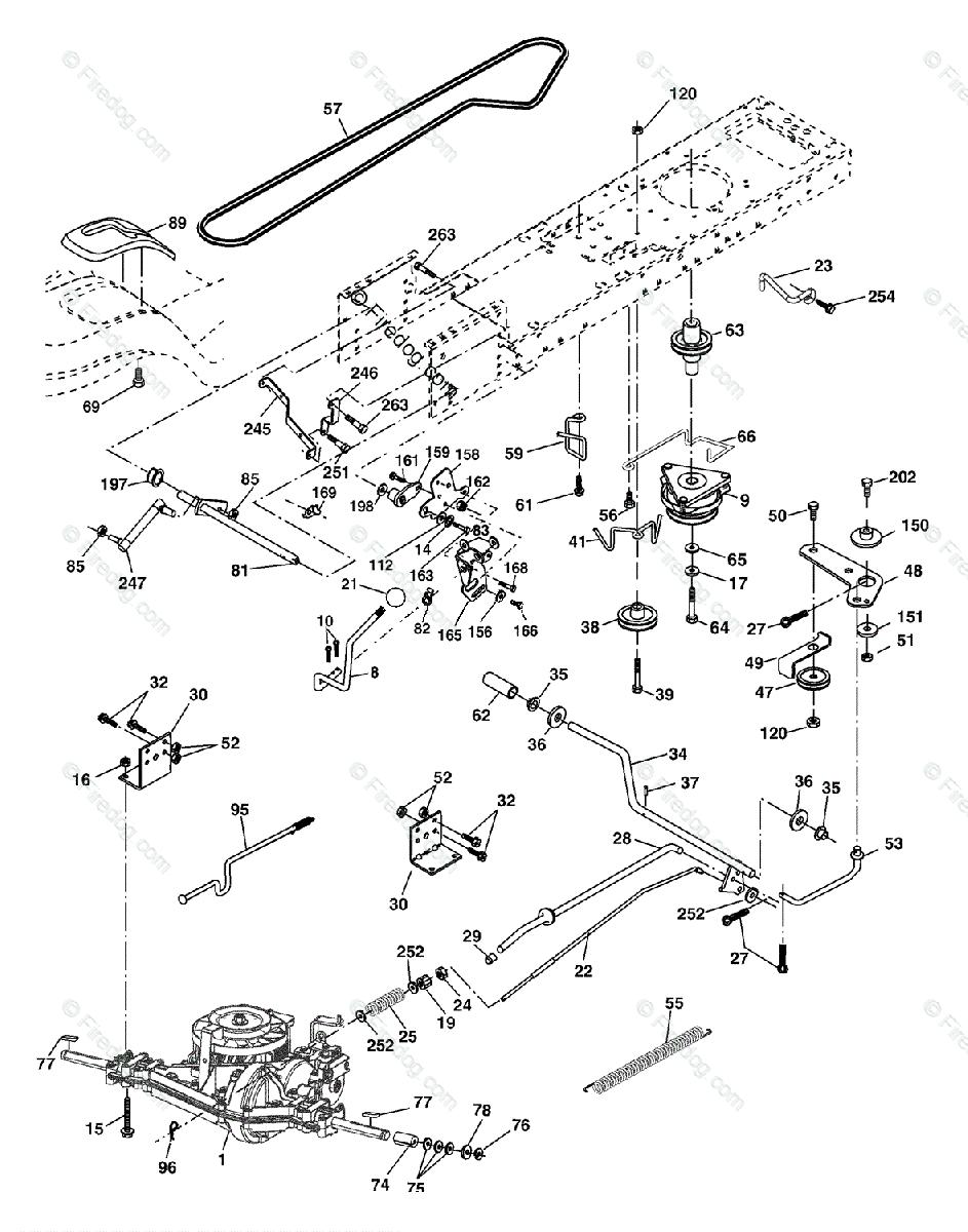 Husqvarna Riding Mower Parts Diagram - Today Wiring Schematic Diagram
