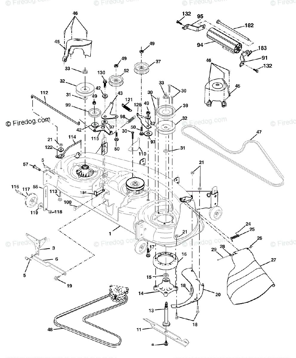 25 Husqvarna Mower Deck Diagram