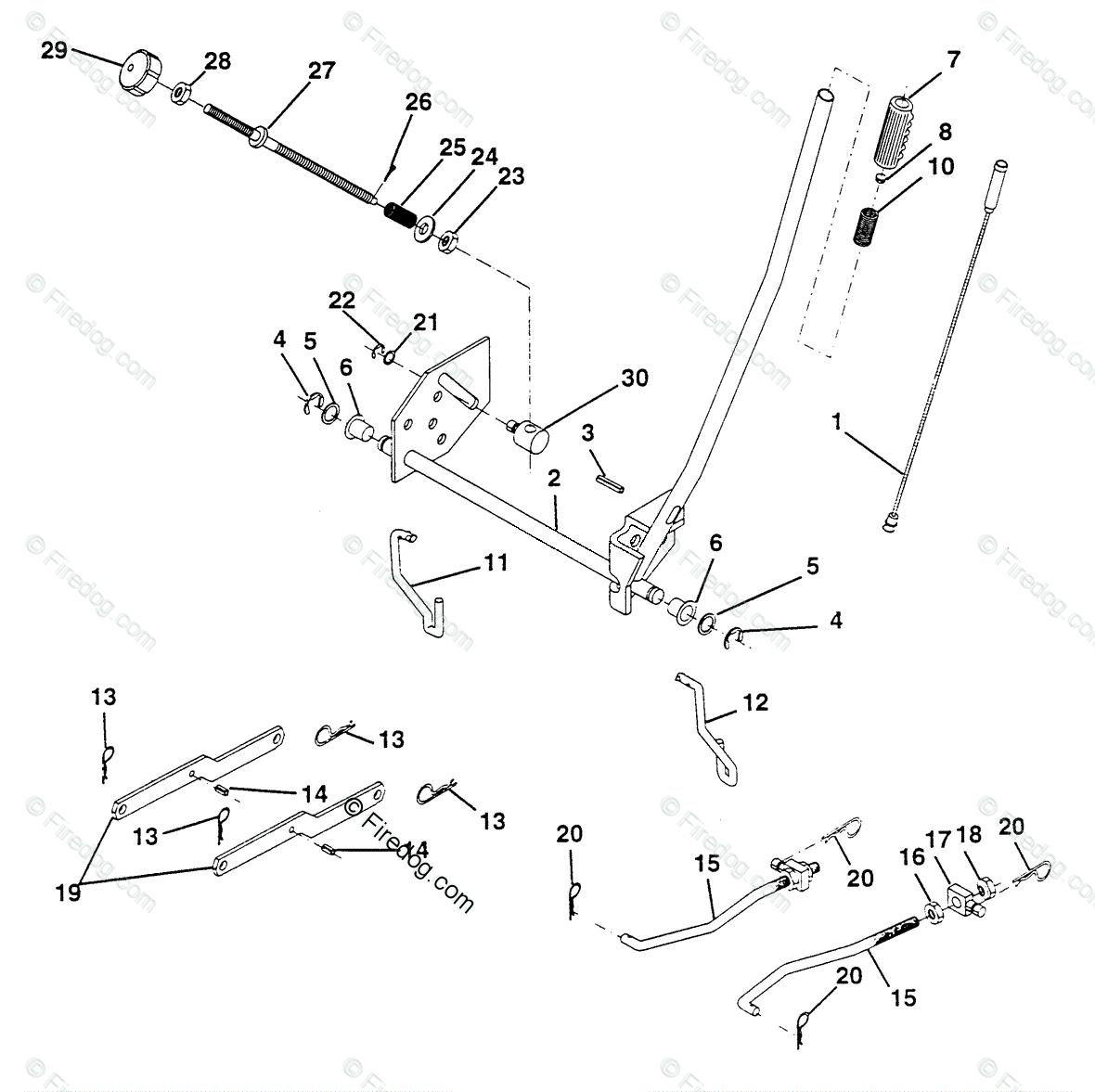 1993 Husqvarna Wiring Diagram Schematic Diagrams Ride Mower Lt 140 Hu4h42a 954000512 01 Oem Outside Light