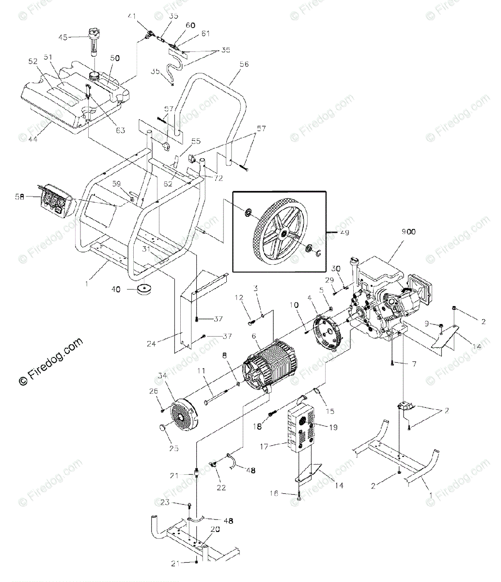 Wiring Diagram For Briggs And Stratton 219907 Electrical Wiring Briggs And  Stratton 8.75 190Cc 875 Series Briggs & Stratton Wiring Diagram