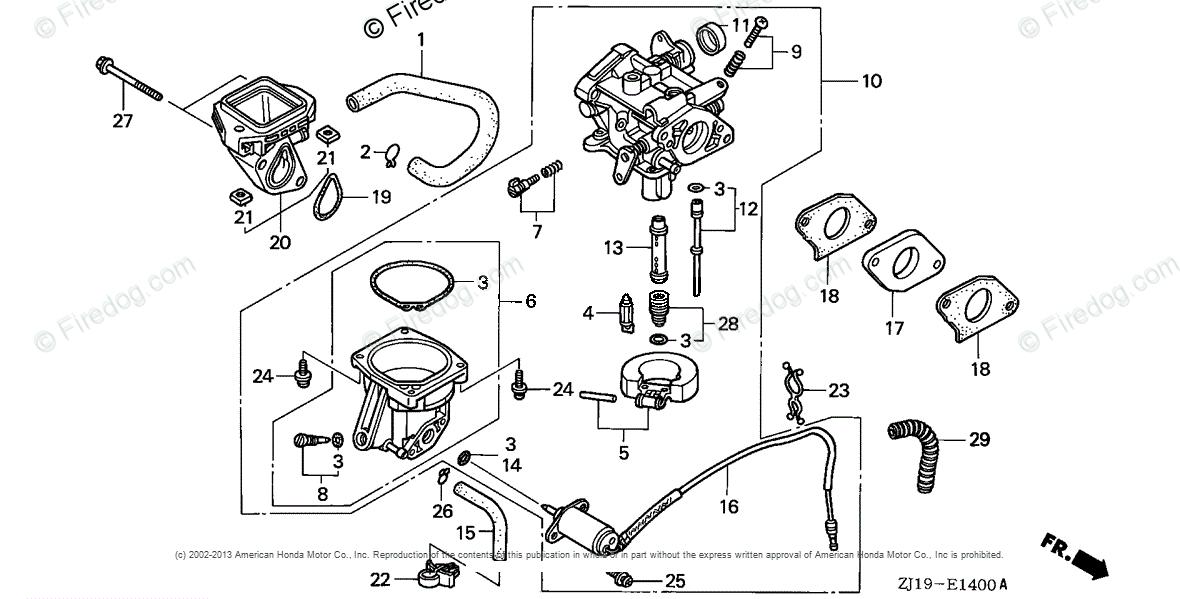 35 Honda Gx620 Carburetor Diagram