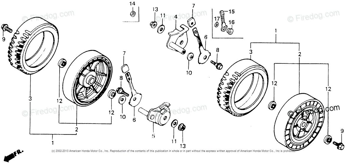 Honda Hr214 Parts Diagram