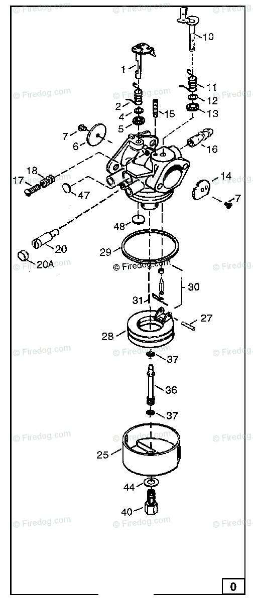 Briggs And Stratton Carburetor Parts Diagram - Wiring Diagram