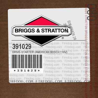 391029 Drive-Starter (American Bosch 110v)