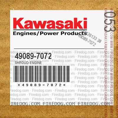 49089-7072 SHROUD-ENGINE