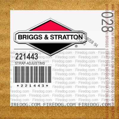 221443 Strap-Adjusting