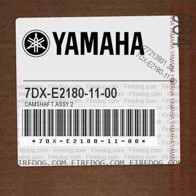7DX-E2180-11-00 CAMSHAFT ASSY 2