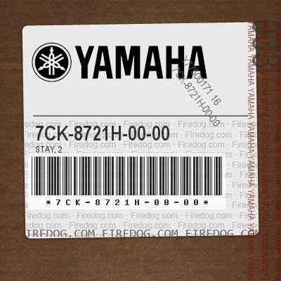 7CK-8721H-00-00 STAY, 2