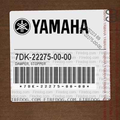 7DK-22275-00-00 DAMPER, STOPPER