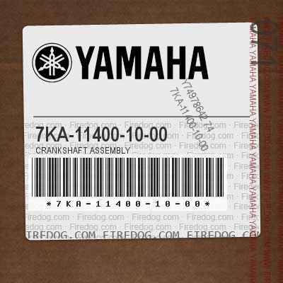 7KA-11400-10-00 CRANKSHAFT ASSEMBLY
