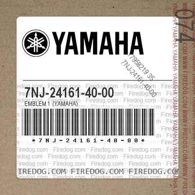 7NJ-24161-40-00 EMBLEM 1 (YAMAHA)