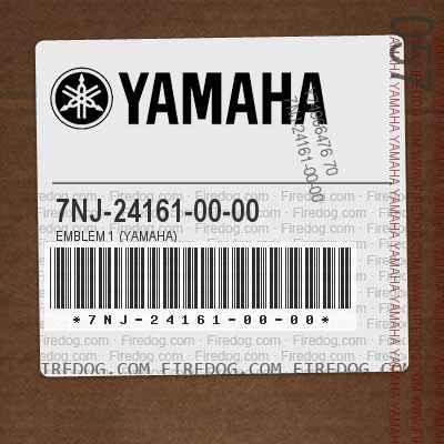7NJ-24161-00-00 EMBLEM 1 (YAMAHA)