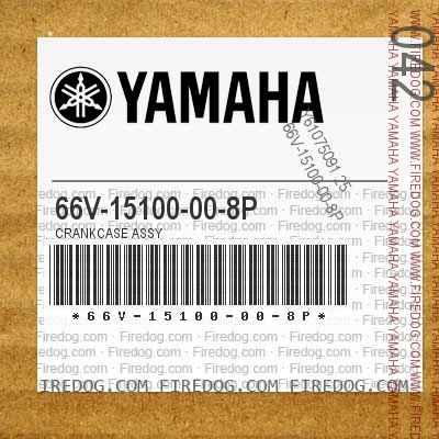 66V-15100-00-8P CRANKCASE ASSY