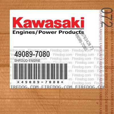 49089-7080 SHROUD-ENGINE