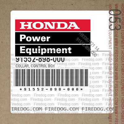 91552-898-000 COLLAR, CONTROL BOX