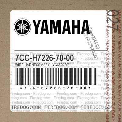 7CC-H7226-70-00 WIRE HARNESS ASSY | YG6600DE