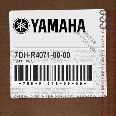 7DH-R4071-00-00 LABEL, EMC