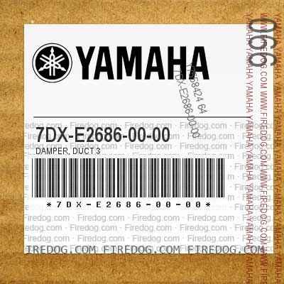 7DX-E2686-00-00 DAMPER, DUCT 3