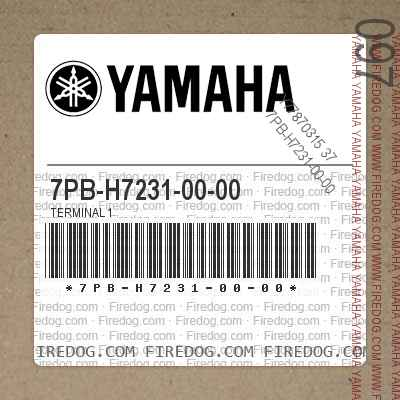 7PB-H7231-00-00 TERMINAL 1