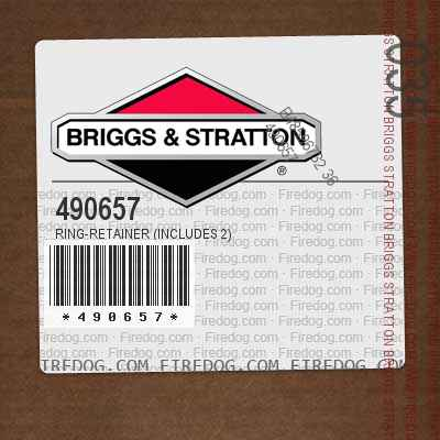 490657 Ring-Retainer (Includes 2)