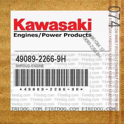 49089-2266-9H SHROUD-ENGINE