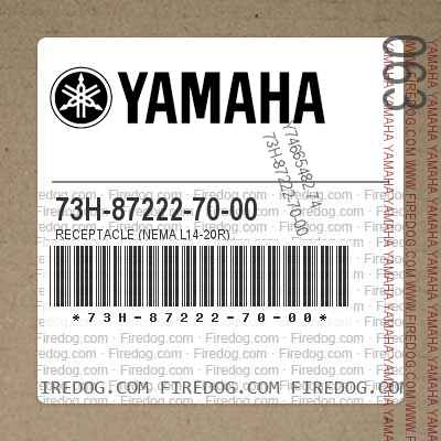 73H-87222-70-00 RECEPTACLE (NEMA L14-20R)