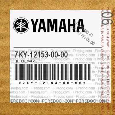 7KY-12153-00-00 LIFTER, VALVE