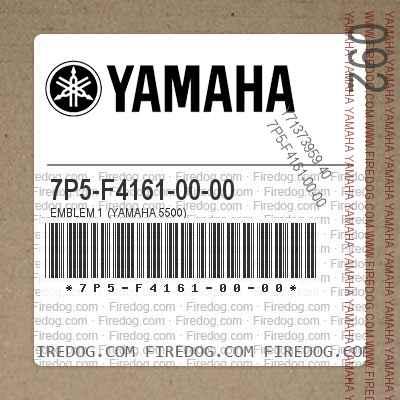 7P5-F4161-00-00 EMBLEM 1 (YAMAHA 5500)