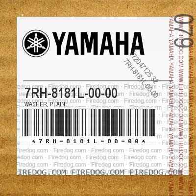 7RH-8181L-00-00 WASHER, PLAIN