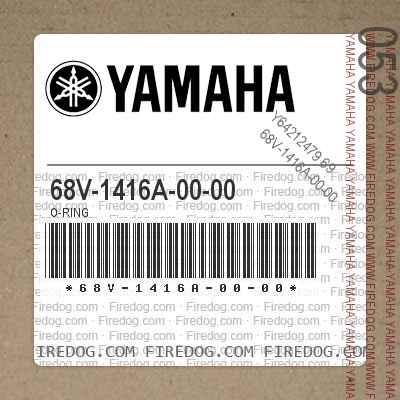 68V-1416A-00-00 O-RING