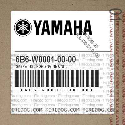 6B6-W0001-00-00 GASKET KIT FOR ENGINE UNIT