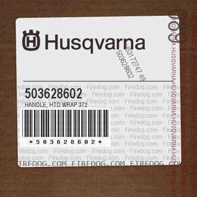 503628602 Handle, Htd Wrap 372