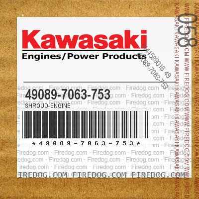 49089-7063-753 SHROUD-ENGINE
