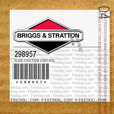 298957 Slide-Friction Control