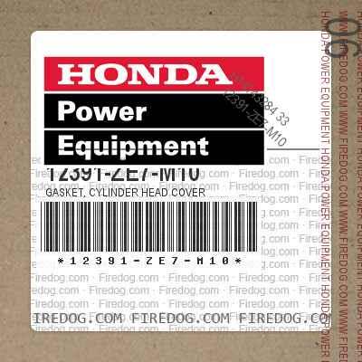 12391-ZE7-M10 GASKET, CYLINDER HEAD COVER