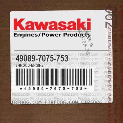 49089-7075-753 SHROUD-ENGINE
