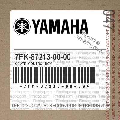 7FK-87213-00-00 COVER, CONTROL BOX