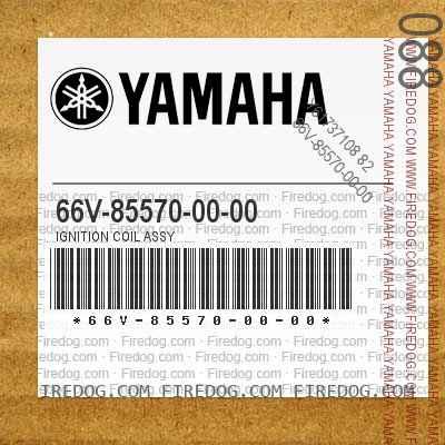 66V-85570-00-00 IGNITION COIL ASSY