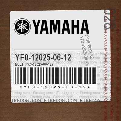 YF0-12025-06-12 BOLT (YK0-12025-06-12)
