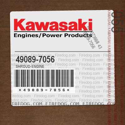 49089-7056 SHROUD-ENGINE